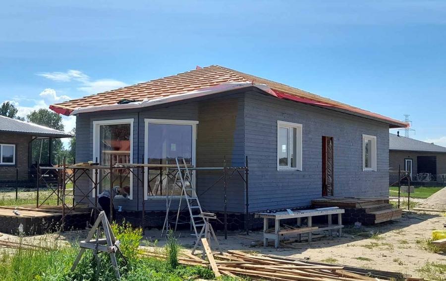 Дом новостройка в Саласпилсе